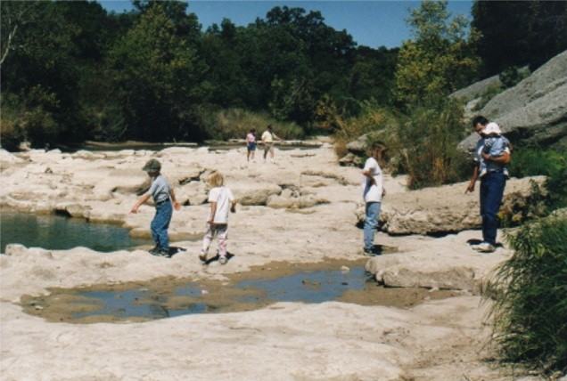 north from blue hole, 1999
